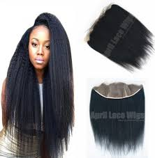 Yaki Clip In Human Hair Extensions by Italian Yaki Indian Remy Human Hair Wefts