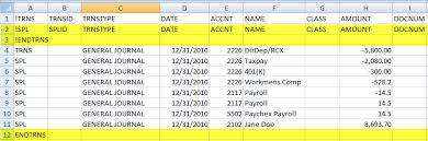 Journal Entry Template Excel How To Import Journal Entries Iif Files Into Quickbooks