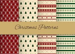 pattern from image photoshop 120 free vector christmas photoshop patterns freecreatives