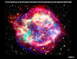 god creation and the cosmos photo album
