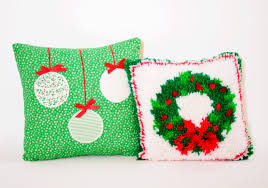 Outdoor Christmas Pillows by Parsimonia Secondhand With Style 2012