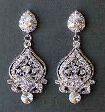 Bridal Earrings Chandelier by 9 Best Images About Wedding Hair Accessories On Pinterest
