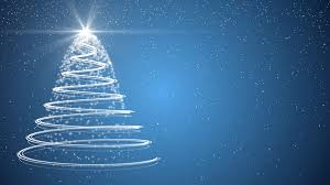 Blue Christmas Decorations Png by Blue Christmas Tree Xmas Holiday Celebration Winter Snow Animation