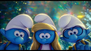 smurfs lost village blu ray