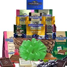gourmet fruit baskets ghirardelli chocolate gift basket gourmet gift baskets for all