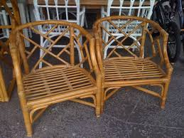 bamboo dining chair furniture traditional rattan chinese