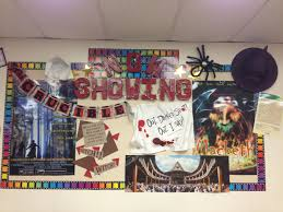 Pinterest Classroom Decor by High English Classroom Bulletin Board With The Crucible And