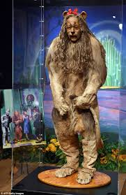 lion costumes for sale cowardly lion costume from the wizard of oz sells for 3m at auction