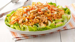 chicken pasta salad buffalo chicken pasta salad recipe pillsbury com