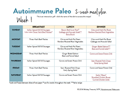 weekly family meal planner template autoimmune paleo 2 week meal plan autoimmune wellness meal plan