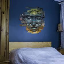 Bedroom Wall Graffiti Stickers Graffiti Face Vinyl Wall Sticker By Vinyl Revolution