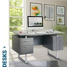 Gray Computer Desk Collections Techni Mobili