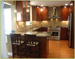 kitchen backsplash cherry cabinets subway tile backsplash with cherry cabinets home design ideas