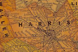 map houston harris county houston