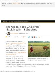 Challenge Explained The Global Food Challenge Explained In 18 Graphics Pdf