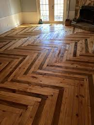 pallet flooring upcycling ideas to a beautiful hardwood floor