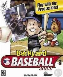 Original Backyard Baseball by Backyard Baseball 2003 Pc Game Download Free Full Version