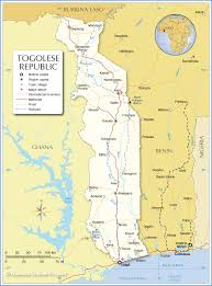 Map Of Mali Africa by Map Of Togolese Republic Nations Online Project