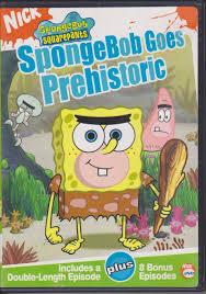spongebob squarepants spongebob goes prehistoric dvd 2004