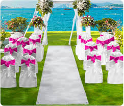 wedding runner the tradition of the wedding aisle runner