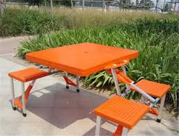 cing chair with table outdoor folding portable cing dining table beach tables in