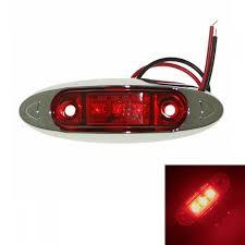red led marker lights sencart 3 2835smd led red led clearance car truck trailer side