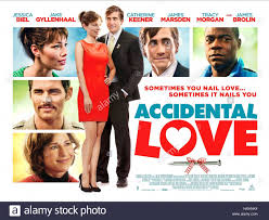 jessica biel u0026 jake gyllenhaal poster accidental love nailed