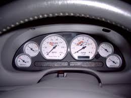 mustang custom gauges cluster ford mustang forum