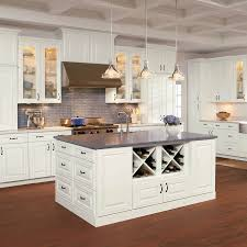 lowes kitchen cabinets white kitchen cabinet style shop shenandoah mckinley 14 5 in x 14 5625 in