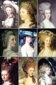 18th century woman u0027s hairstyles a collection of 18th century