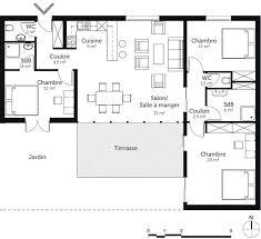 plan de maison 5 chambres plain pied inspirant plan maison 5 chambres plain pied idées de décoration