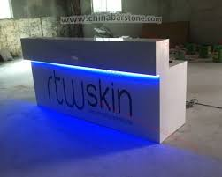 Salon Front Desk Furniture Luxury Design Professional Manufature Of Beauty Salon Front Desk