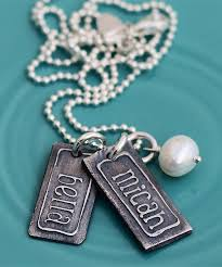 Name Charm The Vintage Pearl Vintage Name Charm Necklace New U2013 The Vintage