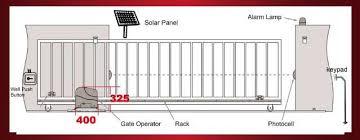 aleko ar2250 sliding gate opener