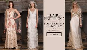 pettibone wedding dresses bridal week wedding dresses inspired by the four seasons from