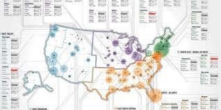 Map Of Time Zones In America by The Wealthiest Zip Codes In America In One Simple Map Huffpost