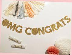 Congratulations Engagement Banner Congrats Mini Burlap Banner Congratulations Banner Graduation