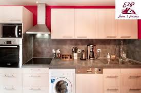 cuisine avec machine à laver lave linge dans cuisine 15 cache lave linge homeezy