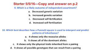 starter 01 26 16 copy and answer on p 2 ppt video online download