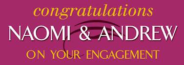 congratulations engagement banner congratulations on your engagement personalised banners