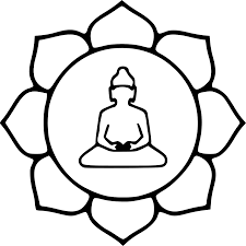 simple clipart buddha pencil and in color simple clipart buddha