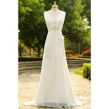 simple open back wedding dresses white wedding dresses wedding gown chiffon wedding gowns