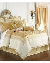 Gold Bed Set Amazing Deal On Waterford Sutton Square Comforter Set Dual King Gold