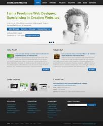 html business templates free download with css free website css template for personal portfolio and business