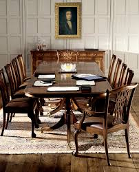 Solid Mahogany Dining Table Traditional Mahogany Extending Dining Table