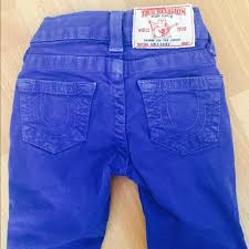light blue true religion jeans true religion jeans bright blue baby poshmark