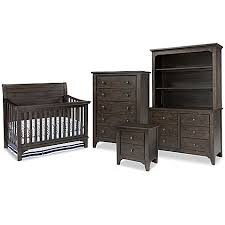 westwood design taylor crib furniture collection in river rock
