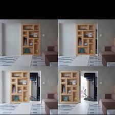 Door Bookshelves by Secret Sliding Door Bookcase Dream Home Pinterest Sliding