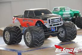 biggest bigfoot monster truck review u2013 pro line destroyer clodbuster tires big squid rc u2013 news