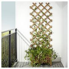 askholmen flower box with trellis outdoor ikea